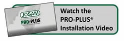 Josam Pro-Plus Installation Video
