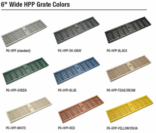 Z886 HPP Grate Colors