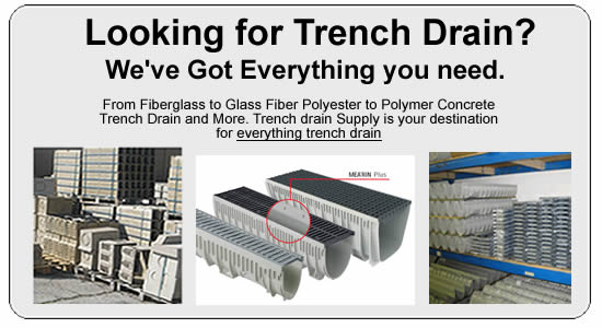 Trench Drain And Driveway Drain In Fiberglass And Polymer