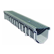 Mearin 100 Fiberglass Trench Drain by Item