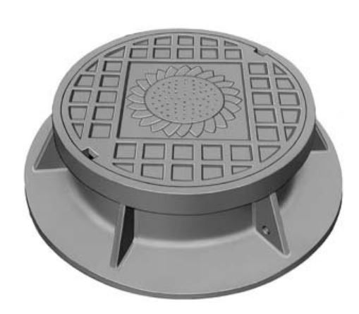Neenah R-1536 Manhole Frames and Covers