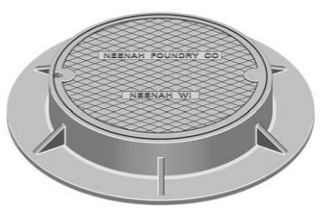Neenah R-1556-A Manhole Frames and Covers
