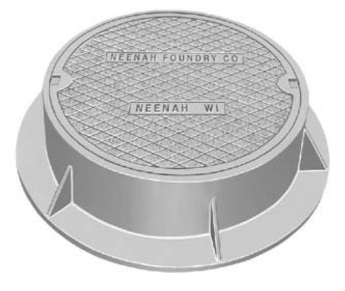 R 1556 Neenah R 1556 Manhole Frames And Covers By Trench
