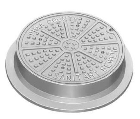 Neenah R-1599-A Manhole Frames and Covers