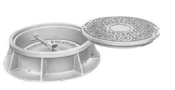 Neenah R-1751-A Manhole Frames and Covers