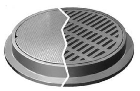 Neenah R-1792-EG Manhole Frames and Covers