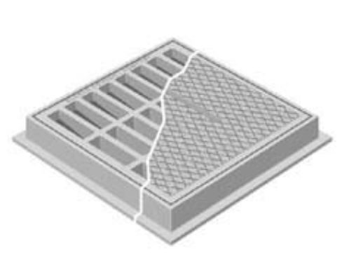Neenah R-1878-B3L Inlet Frames and Grates