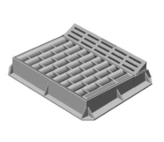 Neenah R-3246-AM Combination Inlets With Curb Box