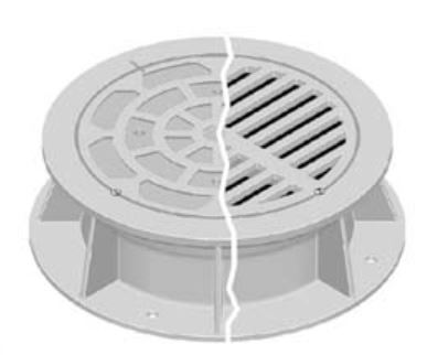 Neenah R-3492-A1 Airport Castings: Manhole Frames and Grates