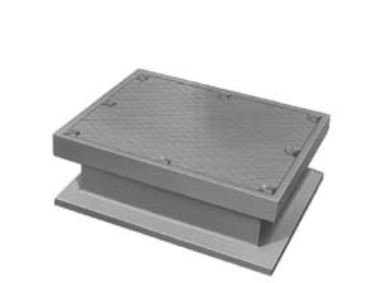 Neenah R-6668-P6 Access and Hatch Covers