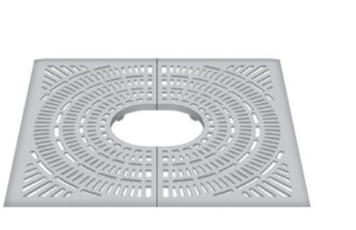 Neenah R-9101 Retrofit Collection Tree Grate