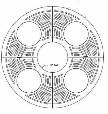8592 60 Quot Round Trademark Tree Grate Set By Trench Drain