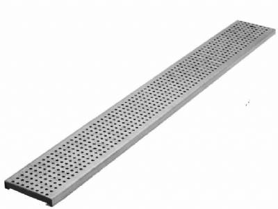 Aco 98866 Type 410q A Galv Perforated Grate 1m By Trench