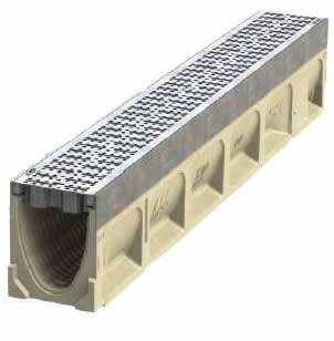 Aco Ks100 Aco Ks100 Stainless Edge Polymer Channel 1m By