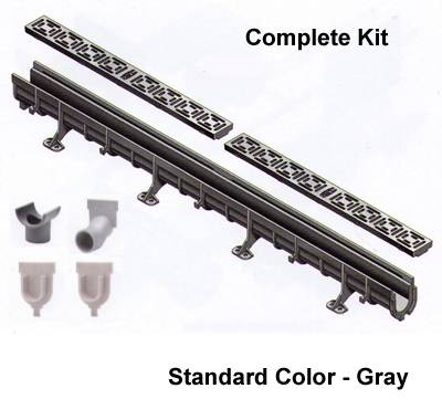 Shower Drain Kit 72 Foot Complete By