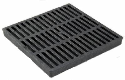 Nds 2411 2411 Square Grate Black 24 Quot X 24 Quot By Trench
