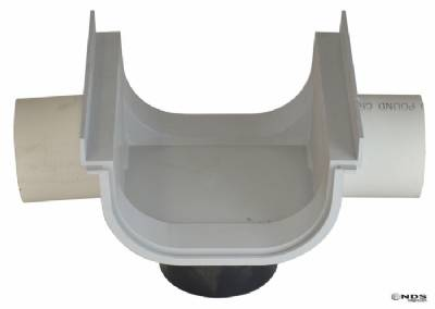 "832 8"" Shallow Profile 3"" Side Outlet"
