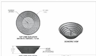 Sdc Basket Sdc Sediment Basket Sdcom Ss By Trench Drain