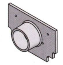 Z884 E2 Z884 2 Quot Outlet End Cap By Trench Drain Supply