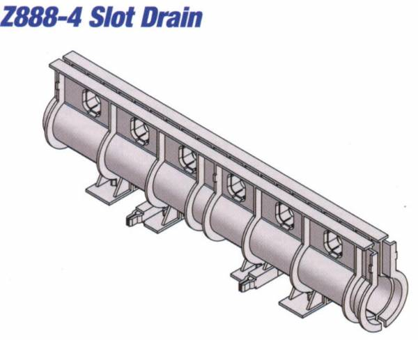 Z888 4 Z888 4 Hdpe Slotted Drain 40 Quot By Trench Drain Supply