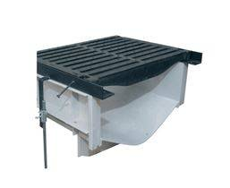 "Z874-18-DGC 18"" Channel & Grate - Per Foot"
